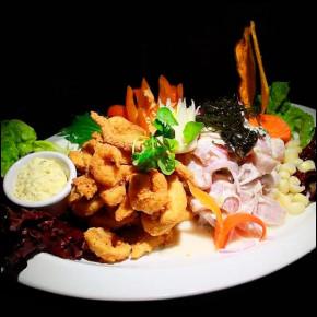 Ceviche pez de oro